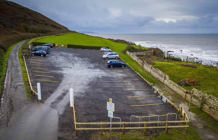 seafield car park side view