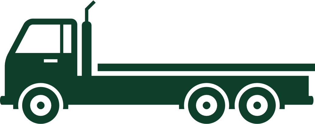 concrete pick up truck icon