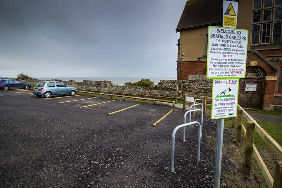 parking spaces in seafield car park